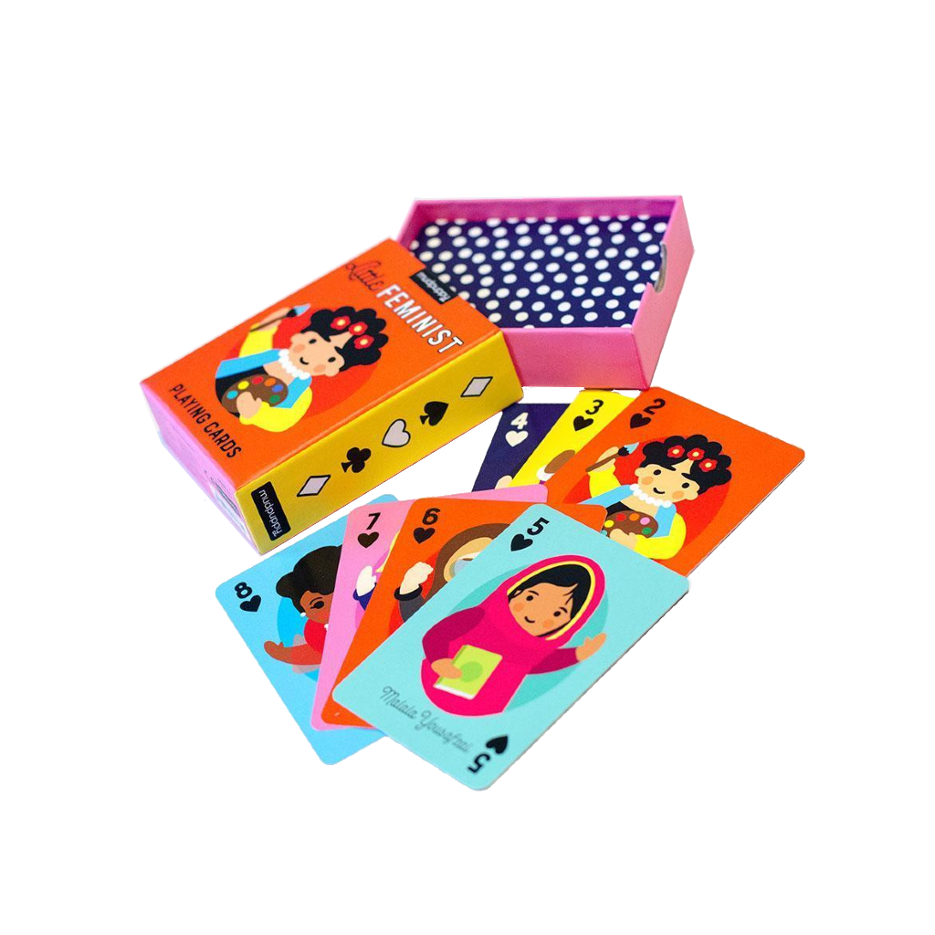 Little Feminist Playing Cards Chronicle Books Toys & Games - Puzzles & Games - Playing Cards