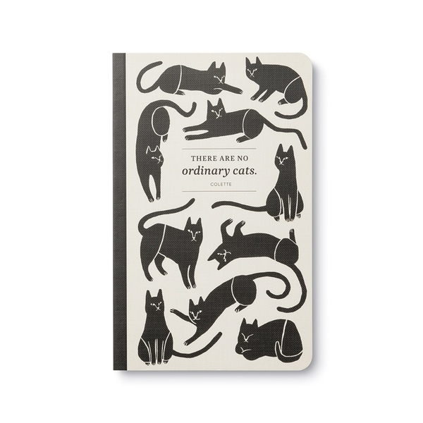 There Are No Ordinary Cats Journal Compendium Books - Blank Notebooks & Journals