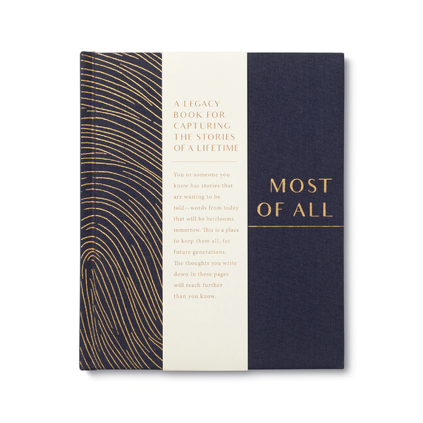 Most of All Guided Journal Compendium Books - Guided Journals & Gift Books