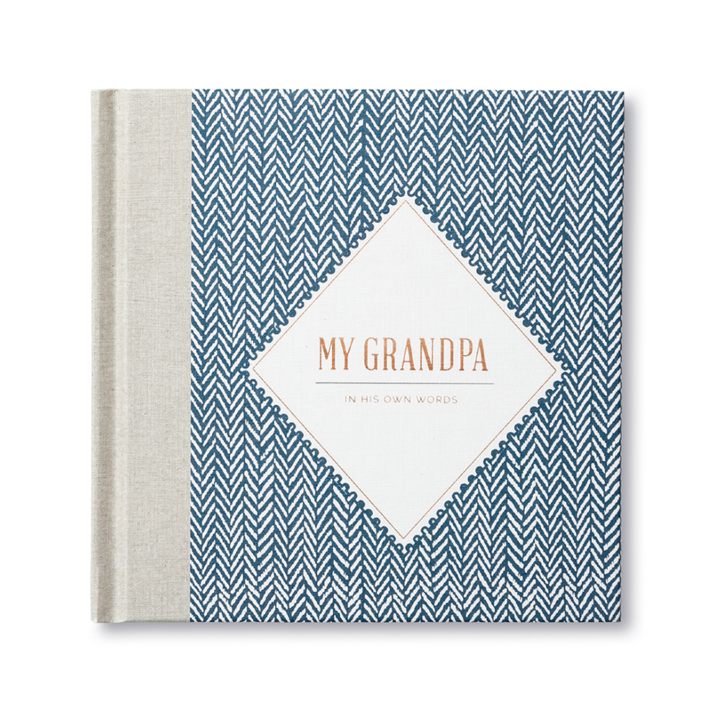 My Grandpa: In His Own Words Journal Compendium Books - Guided Journals & Gift Books