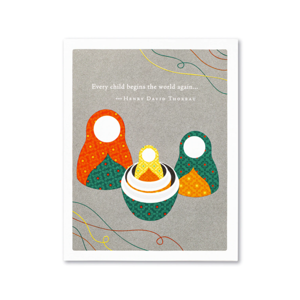 Every Child Baby Card Compendium Cards - Baby
