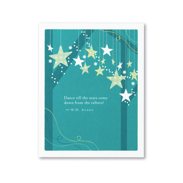 Dance Till The Stars Come Down Birthday Card Compendium Cards - Birthday