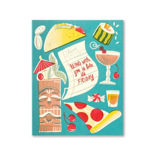 Being With You Is Like It's Friday Friendship Card Compendium Cards - Friendship