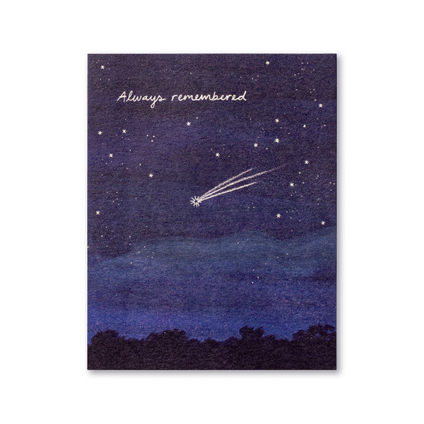 Always Remembered Sympathy Card Compendium Cards - Sympathy