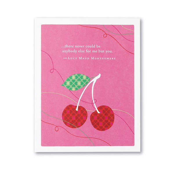 There Never Could Be Anbody Else for Me Valentine's Day Card Compendium Cards - Valentine's Day