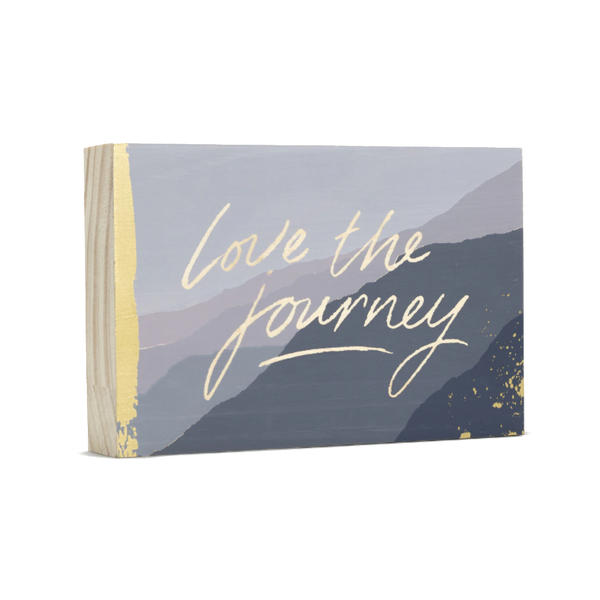 Love The Journey Wood Plaque Compendium Home - Wall & Mantle