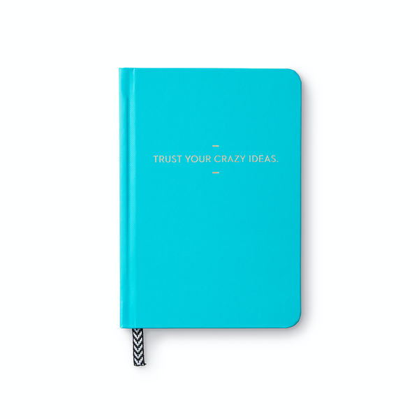 Trust Your Crazy Ideas Motto Blank Journal Compendium Inc. Books - Blank Notebooks & Journals