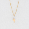 Dainty Lighting Gold Charm Necklace Cool And Interesting Jewelry - Necklaces