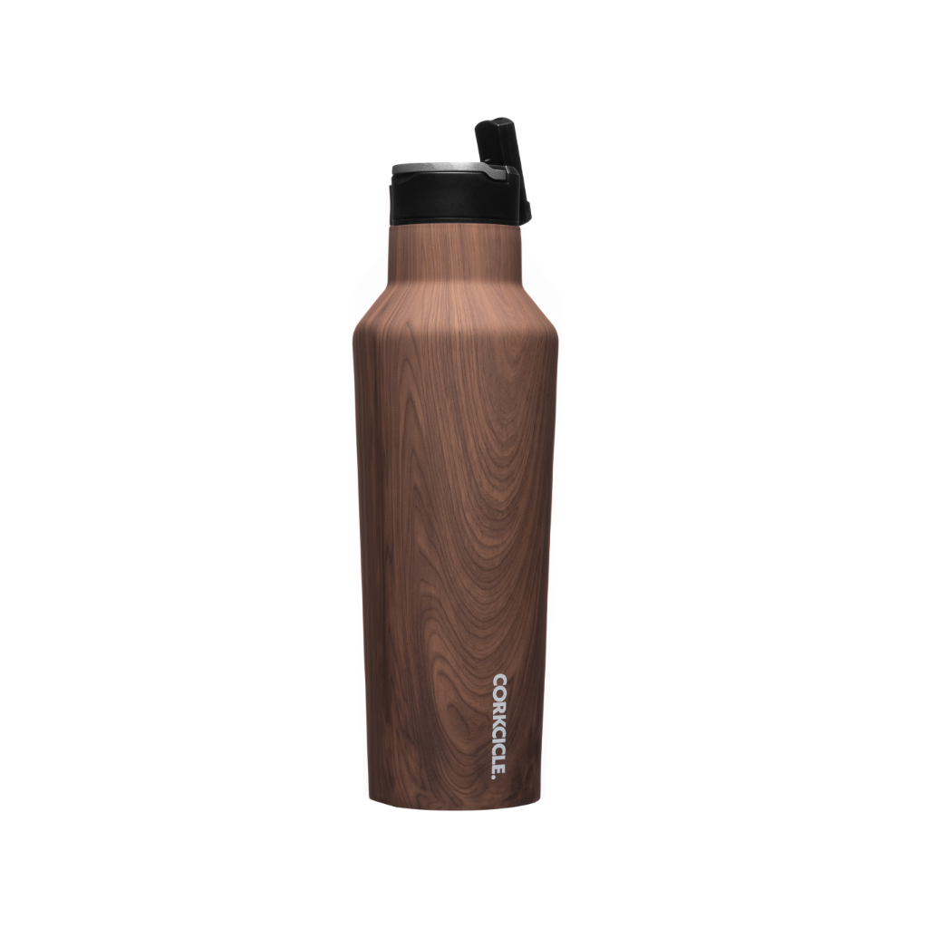 Corkcicle Sport Canteen - Walnut Wood- 20oz. Corkcicle Home - Mugs & Glasses - Reusable