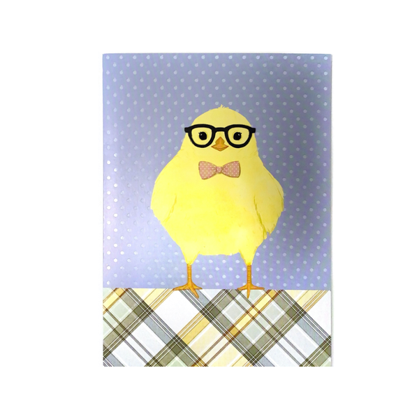 Hipster Chick Easter Card Design Design Cards - Easter