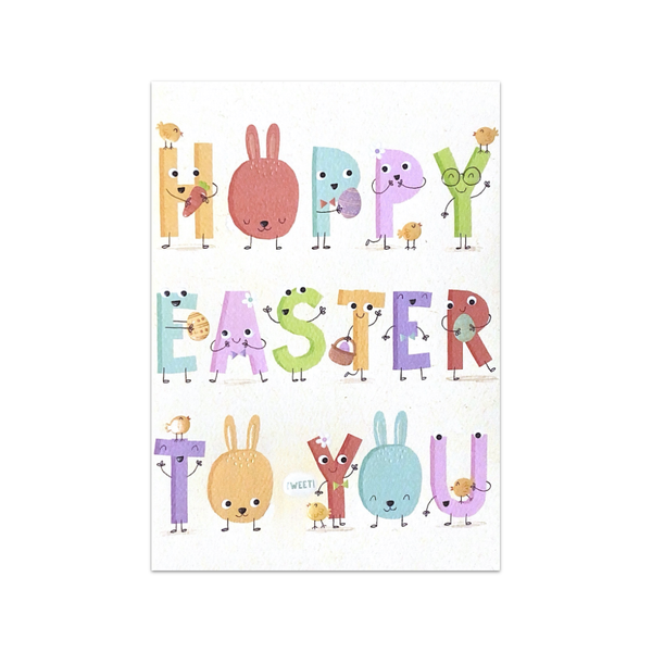 Hoppy Easter To You Design Design Cards - Easter