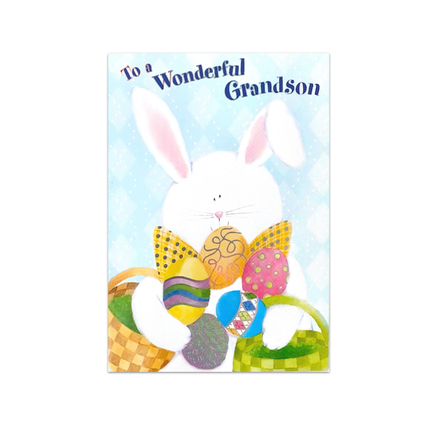 Wonderful Grandson Easter Card Design Design Cards - Easter