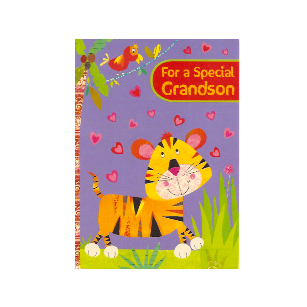 For A Special Grandson Valentine's Day Card Design Design Cards - Valentine's Day