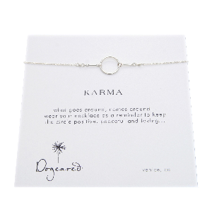 Karma Necklace - Sterling Silver Dogeared Necklaces