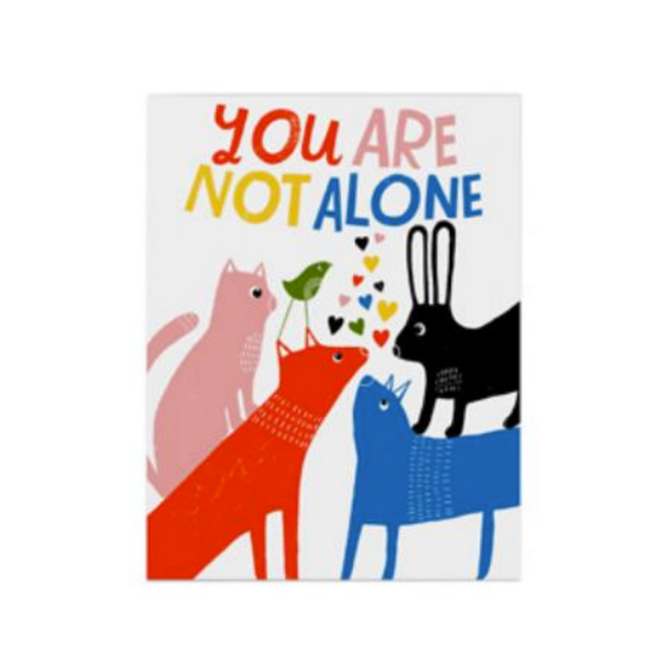 You Are Not Alone Card Emily McDowell Card - Encouragement