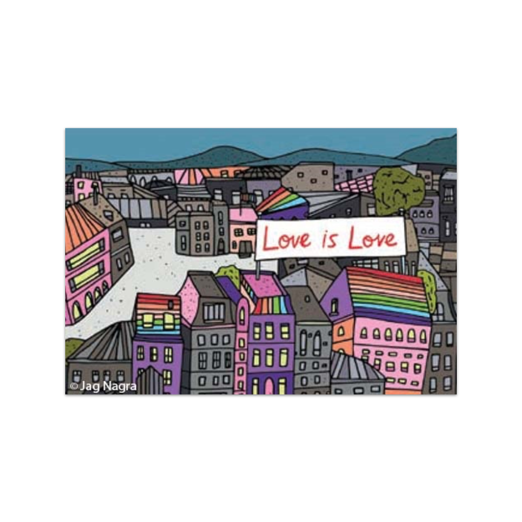 EPH MAGNET LOVE IS LOVE Ephemera Home - Magnets