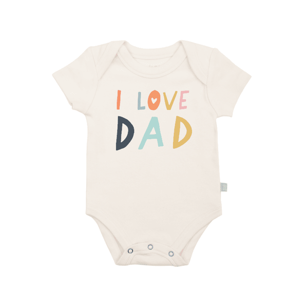 0-3 MONTHS I Love Dad Onesie FINN + EMMA Baby - Clothes