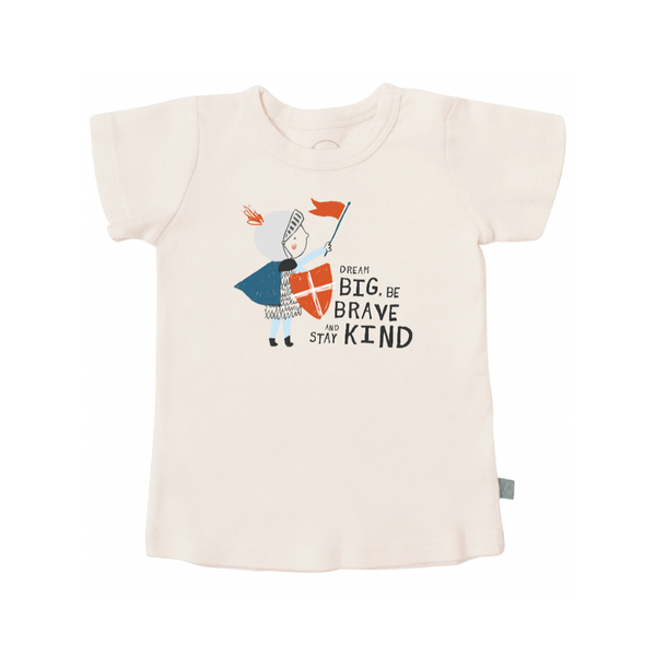 3T Dream Big, Be Brave and Stay Kind Toddler Tee Shirt FINN + EMMA Baby - Clothes