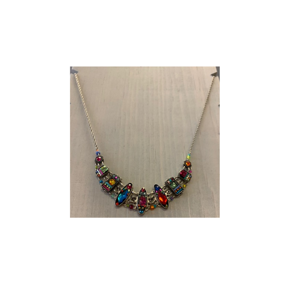 Firefly Milano Multicolor Necklace Firefly Jewelry - Necklace
