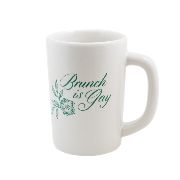 Fishs Eddy Home & Garden > Kitchen & Dining > Tableware > Drinkware > Mugs Brunch Is Gay Mug