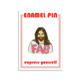 Jonathan Van Ness Fab Enamel Pin FOUND Accessories - Pin