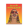 You Are The Sunshine Of My Life Stevie Wonder Card FOUND Card - Blank