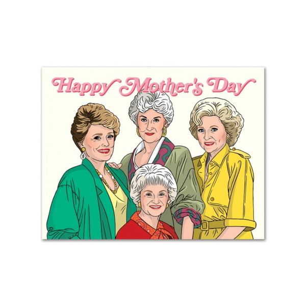 Golden Girls Mother's Day Card FOUND Card - Mother's Day