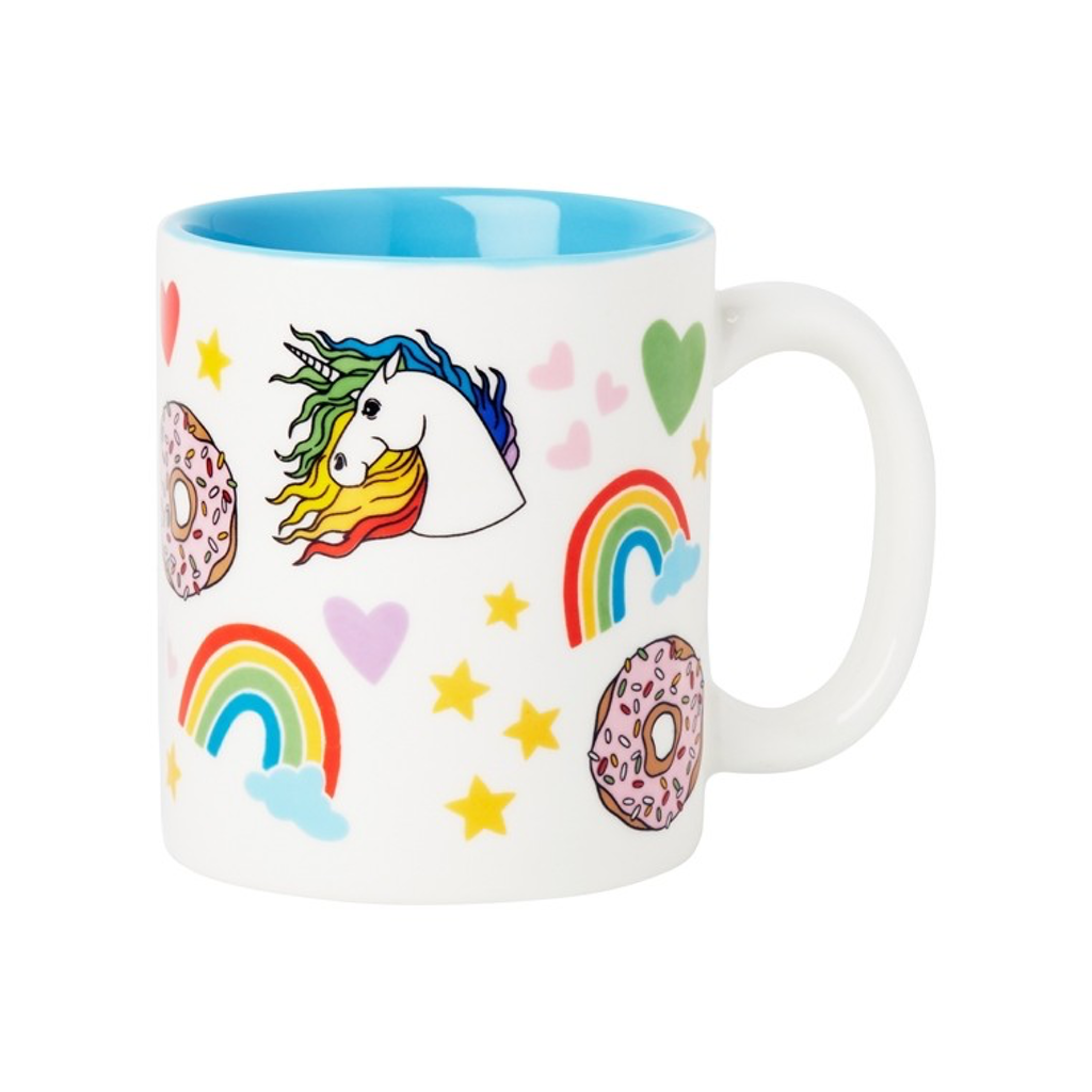 Unicorn Rainbows Donuts Mug FOUND Home - Mugs & Glasses