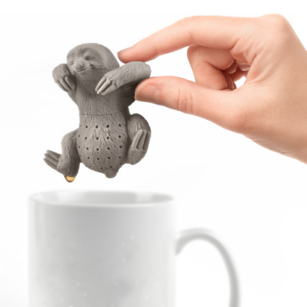 Slow Brew Sloth Tea Infuser Fred & Friends Tea Strainers & Infusers
