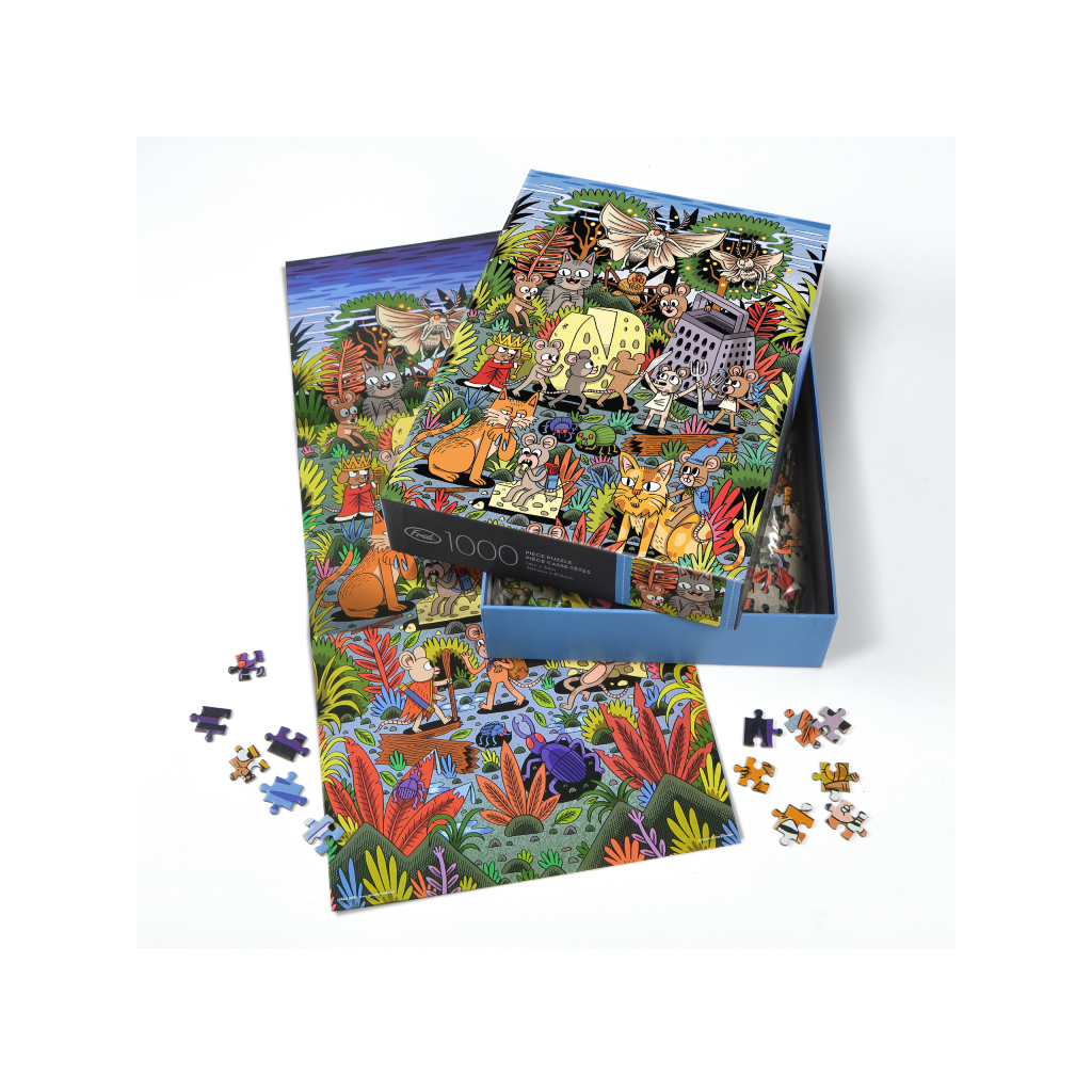 Puzzlers World 1000 Piece Jigsaw Puzzle