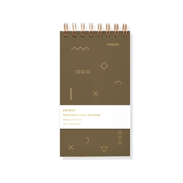 Mini Designer Notebook - Geo FRINGE STUDIO Books - Blank Notebooks & Journals