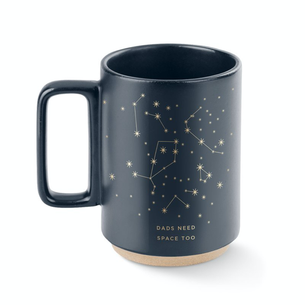 Dads Need Space Too Mug FRINGE STUDIO Mugs & Glasses