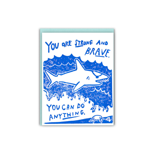 LIke A Shark With An Eye Patch Encouragement Card Ghost Academy Card - Encouragement