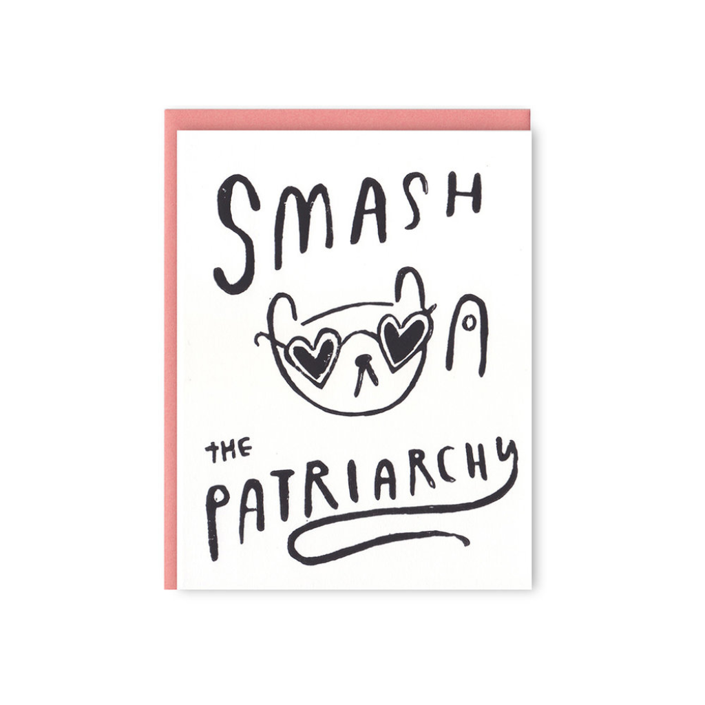 GHA CARD BLANK SMASH THE PATRIARCHY Ghost Academy Cards - Blank