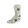 GLS SOCKS CREW: Men's Stoned Marijuana Socks - Shoe Size 7-12 Good Luck Sock Apparel & Accessories - Socks - Mens