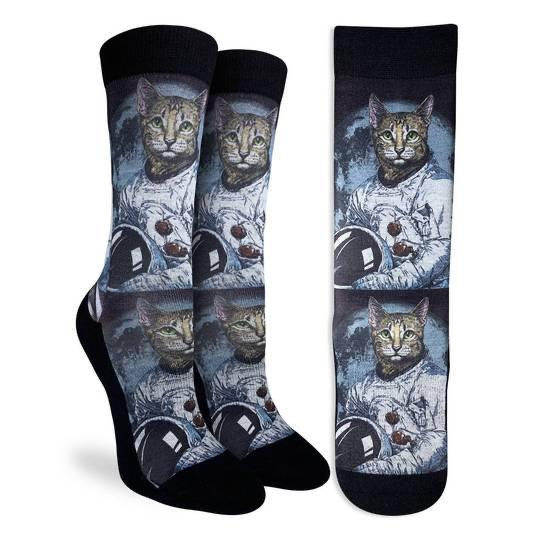 Astro Cat Active Socks - Womens GOOD LUCK SOCK: GLS Socks - Women's