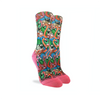 Pugs & Flamingo Active Fit Socks - Womens GOOD LUCK SOCK: GLS Socks - Women's