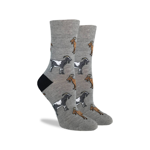 Goats Crew Socks - Womens