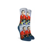 Default Mister Rogers Make Believe Kingdom Active Fit Socks - Womens Good Luck Sock Socks