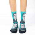 Default Ruth Bader Ginsburg Active Socks - Womens Good Luck Sock Socks