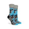 Default Travelling Penguin Crew Socks - Womens Good Luck Sock Socks