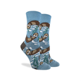 Sea Otter Crew Socks - Womens Good Luck Sock Socks