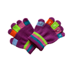 PURPLE Toddler Knit Magic Stretch Glove with Numbers Grand Sierra Baby - Gloves & Mittens