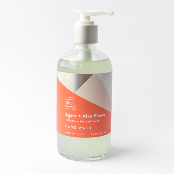 Agave & Aloe Hand Wash GREENMARKET PURVEYING CO. Liquid Hand Soap