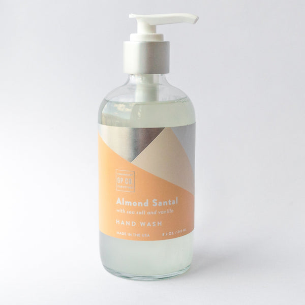 Almond Santal Hand Wash GREENMARKET PURVEYING CO. Liquid Hand Soap