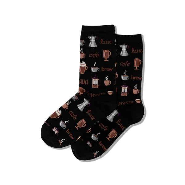 Coffee Crew Socks - Womens HOTSOX Socks - Women