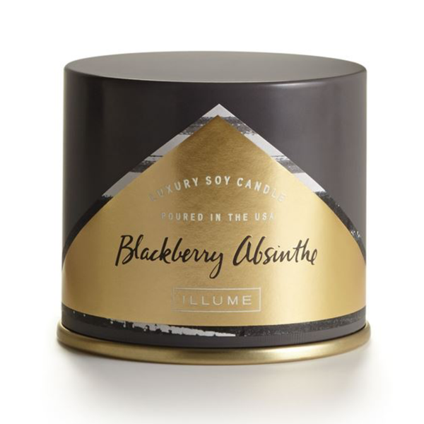 Essentials Vanity Tin Candle - Blackberry Absinthe - 11.8oz Illume Home - Candles - Specialty