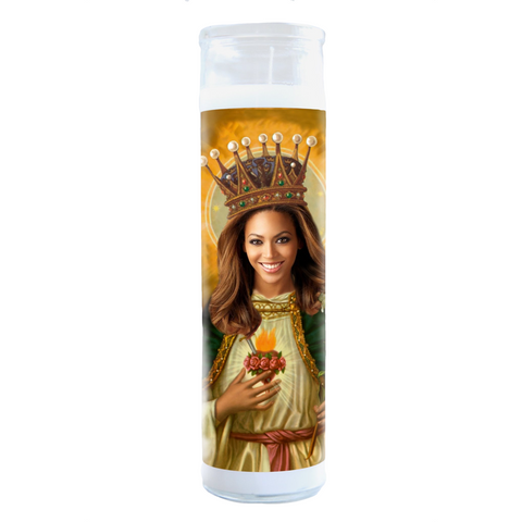 Beyoncé lluminidol Celebrity Prayer Candle