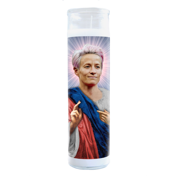 Default Megan Rapinoe lluminidol Celebrity Prayer Candle ILLUMINIDOL Home - Candle