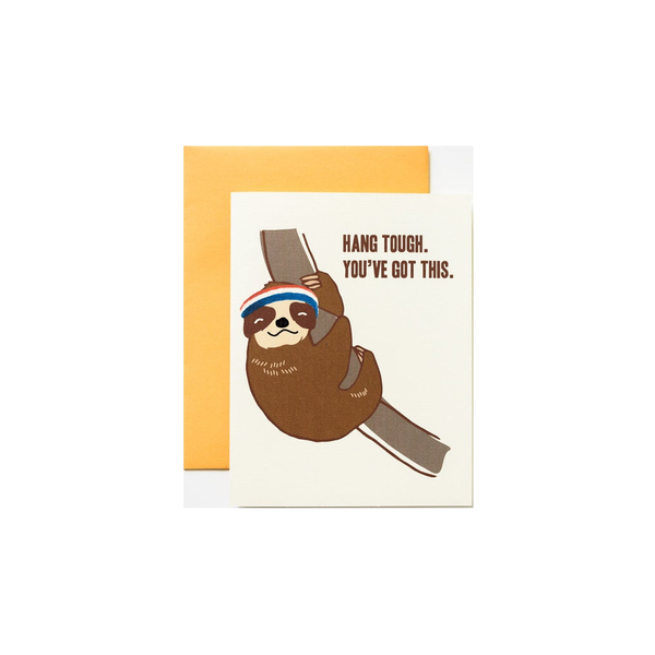 Hang Tough Blank Card ILOOTPAPERIE Card - Blank